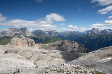 Gruppo del sella visto dal Catinaccio - Italy