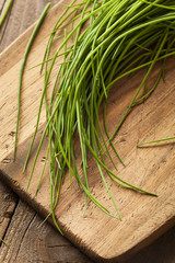 Raw Organic Green Chives