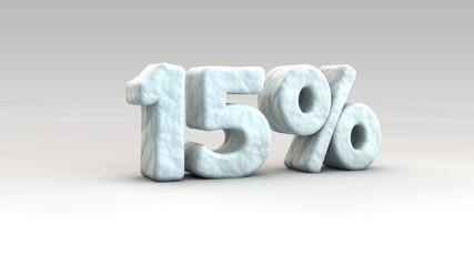 15% ice