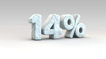14% ice