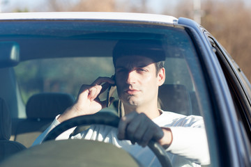 talking on cell phone while driving