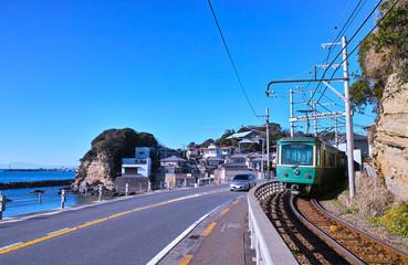 137号線と江ノ電