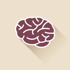 Simple Brain Icon