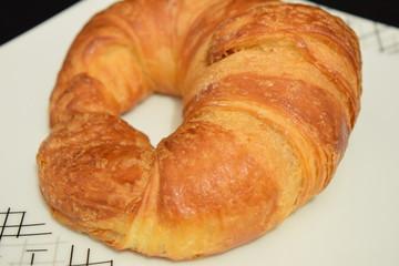 Fresh croissant.