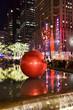 Leinwanddruck Bild - Christmas Decorations, New York