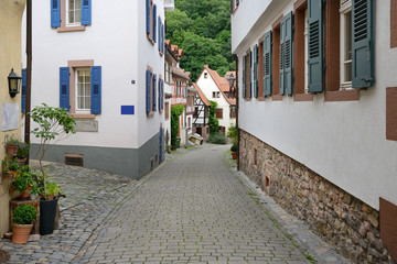Beautiful street in the old town