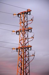 Spanish electricity pylon © Arena Photo UK