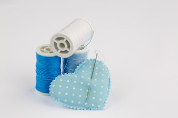 Mavi İp ve kalp