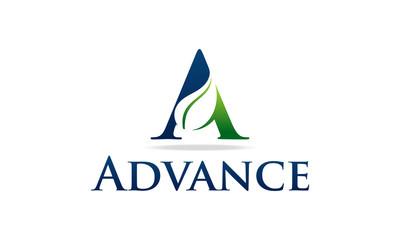 A Green Eco Logo