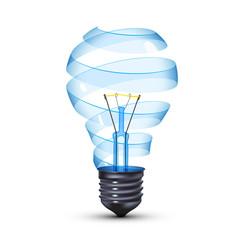 surreal lightbulb