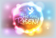 Christian Easter Risen Illustration - 78146504