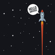 Space rocket - 78146925