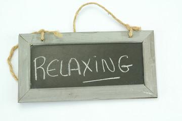 slate relaxing