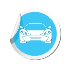 Car icon. Vector illustration