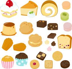 ケーキと洋菓子