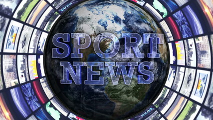 SPORT NEWS, Earth and Monitors Tunnel