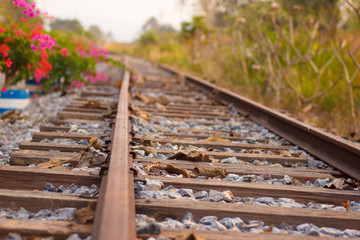 Railroad I - Stock Image