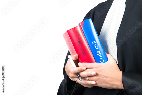 codes de justice dans les mains - 78154101