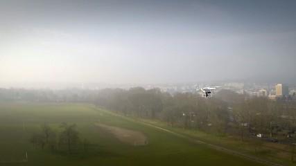 survol de drone