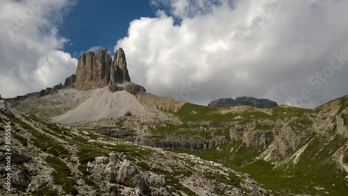 canvas print picture Berge / Wild West ähnliche Felsformation