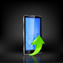 Smartphone vector.