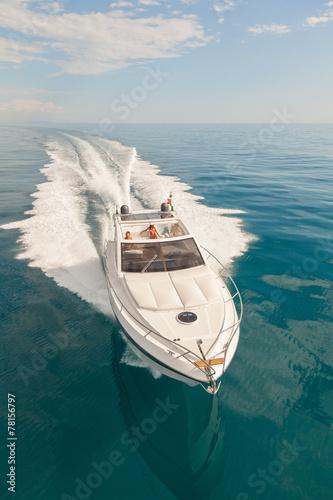 Aluminium Jacht motor boat