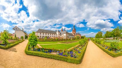 Kloster Seligenstadt Panorama