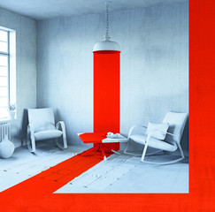 conceptual interior