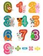 numbers mathematics with animals