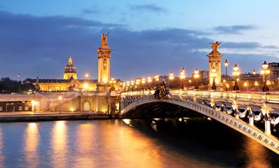 Alexandre 3 Bridge, Paris, France