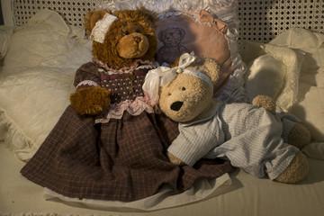 Teddy bear mummy