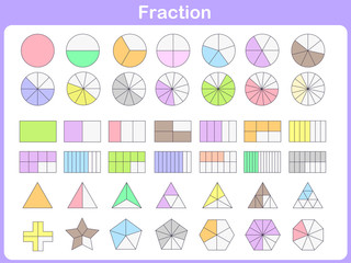 fraction for education