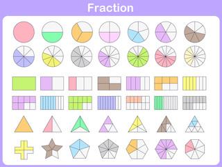 fraction for education