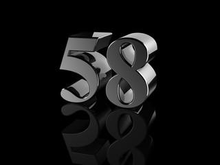 number 58