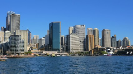 Sydney City wide shot
