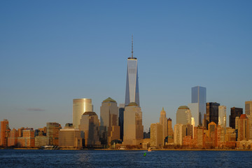 The Financial center of the world in Lower Manhattan