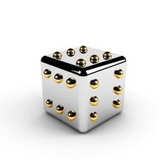 gold winning dice