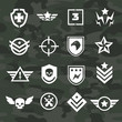 Military symbol icons and logos special forces - 78164767