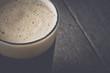 Pint of Dark Beer on Wood Background with Vintage Film Style - 78166721