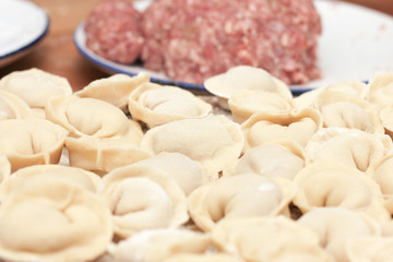 minced dough dumplings