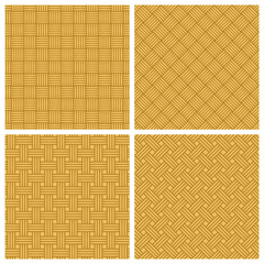 set of seamless texture of woven