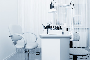 beautiful manicure room