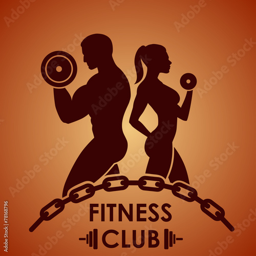 Fitness logo - 78168796