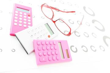 眼鏡と計算機