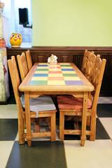 Interior children's cafe