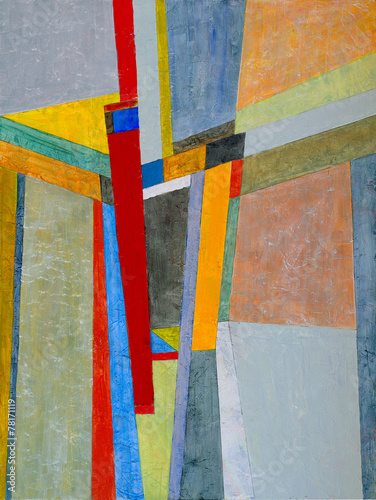 an abstract painting - 78171119