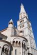 Leinwanddruck Bild - ghirlandina tower, modena