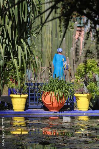 Aluminium Marokko Jardins Majorelle