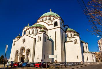 Church of Saint Sava in Belgrade - Serbia