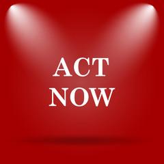 Act now icon